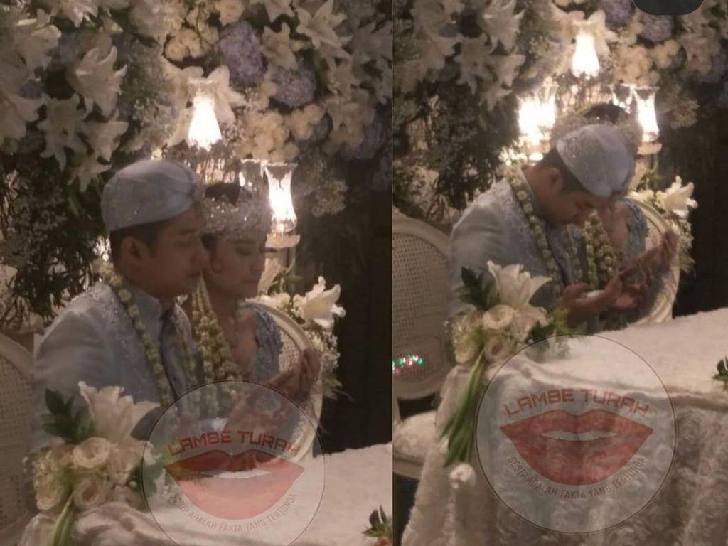 Heboh Ibunda Tak Restui, Angbeen Rishi Resmi Dinikahi Adly Fairuz
