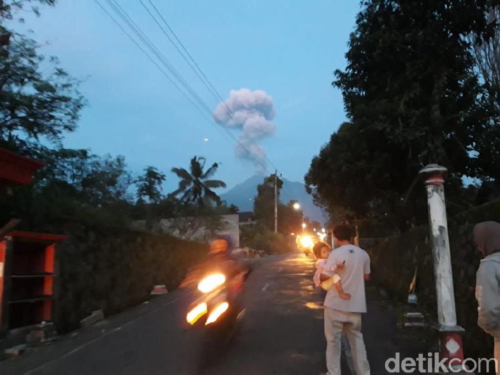 Gunung Merapi Erupsi 3 Kali Sejak Kemarin, Berikut Catatannya