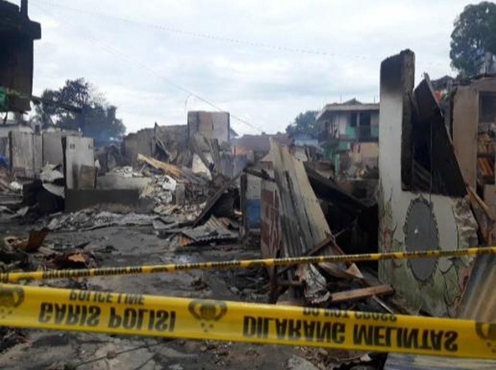 Ratusan Korban Kebakaran di Ambon Mengungsi, Pemkot Siapkan Pencegahan Corona