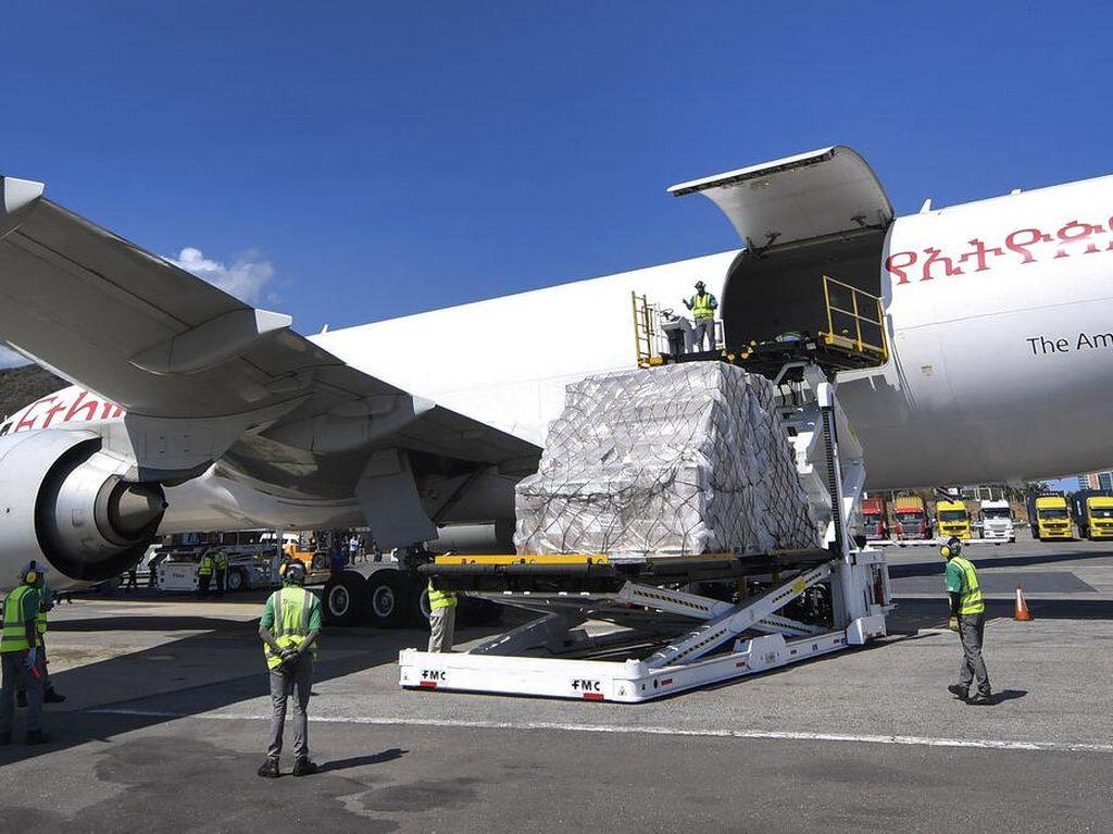 Bantuan Medis untuk Lawan Corona dari China Tiba di Venezuela