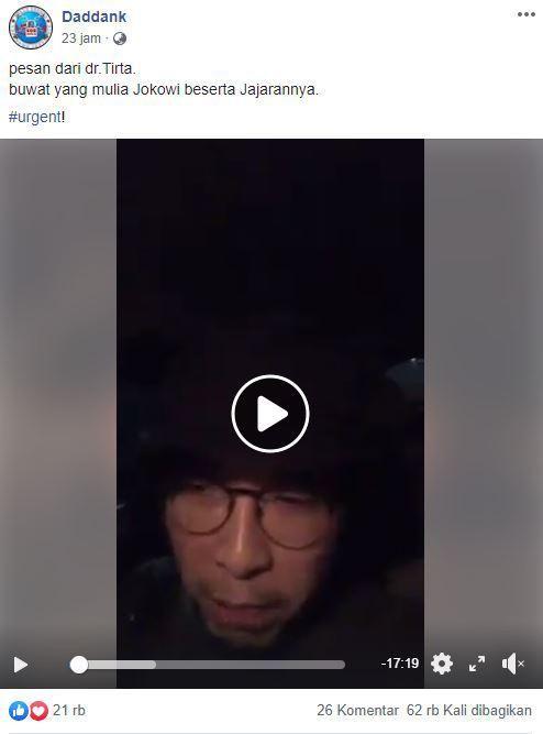 Dr Tirta Emosi, Jubir Kemenkes Minta Si Miskin Tak Tulari Corona ke Si Kaya