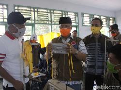 Atasi Kelangkaan Masker, Gubernur Bengkulu Genjot Produksi Massal di BLK