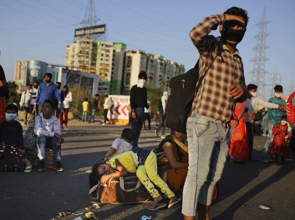 Cegah Penularan Corona, India Perpanjang Lockdown Hingga 3 Mei