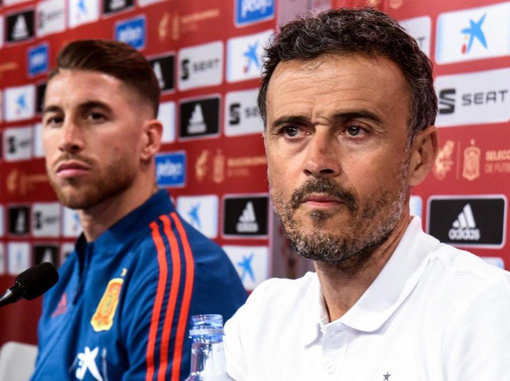 2 Hal yang Bikin Luis Enrique Kagum pada Sergio Ramos