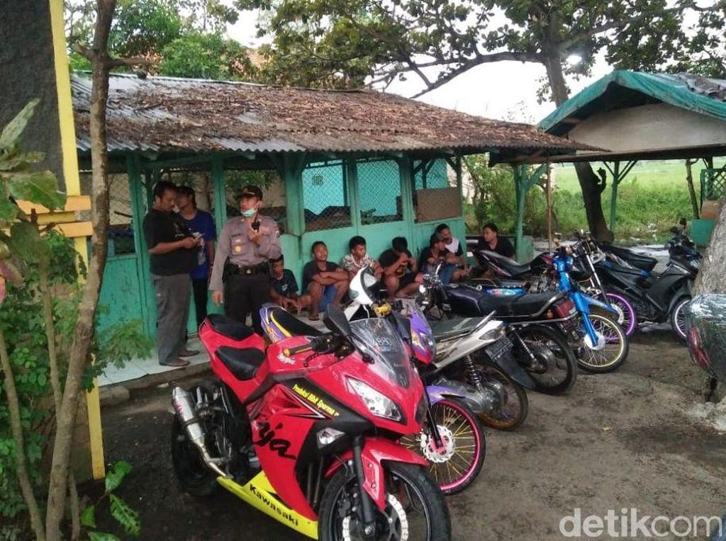 Nekat Balapan Liar di Tengah Wabah Corona, Belasan Pelajar SMA Diciduk