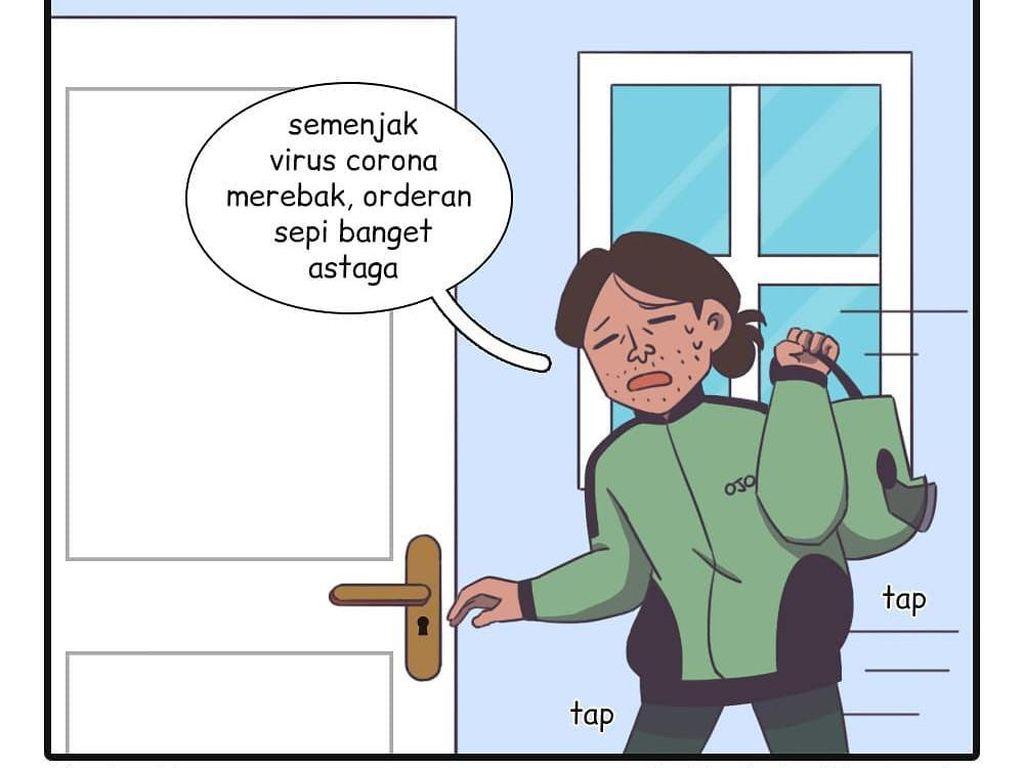 Tetap Semangat, Ketika Komik Bang Lambe Berjuang di Pandemi Corona