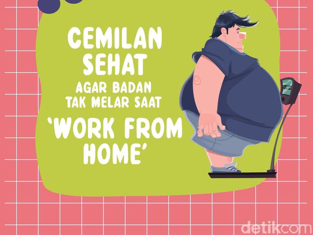 Cemilan Sehat Agar Badan Tak Melar Saat Work from Home