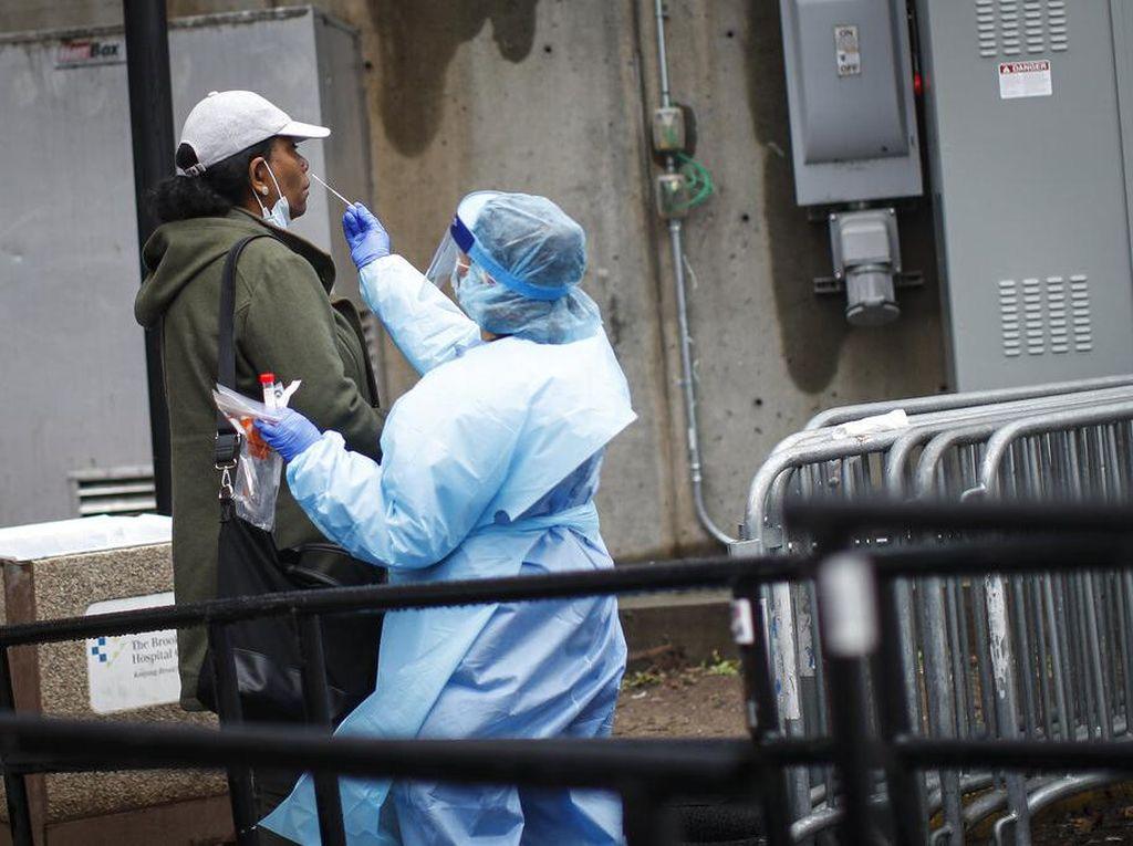 Lebih dari 163 Ribu Orang Positif Virus Corona di AS, 3.008 Orang Meninggal