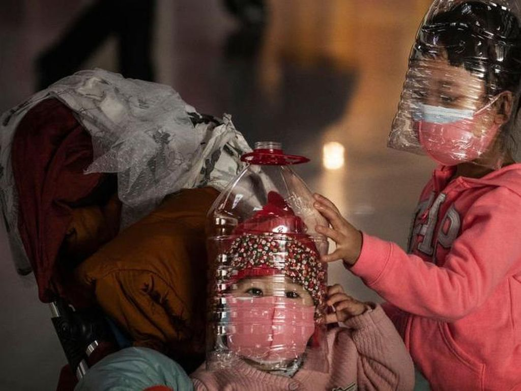 Viral Foto Rontgen Paru-paru Anak PDP di Medan, Bukti Corona Tak Pandang Usia