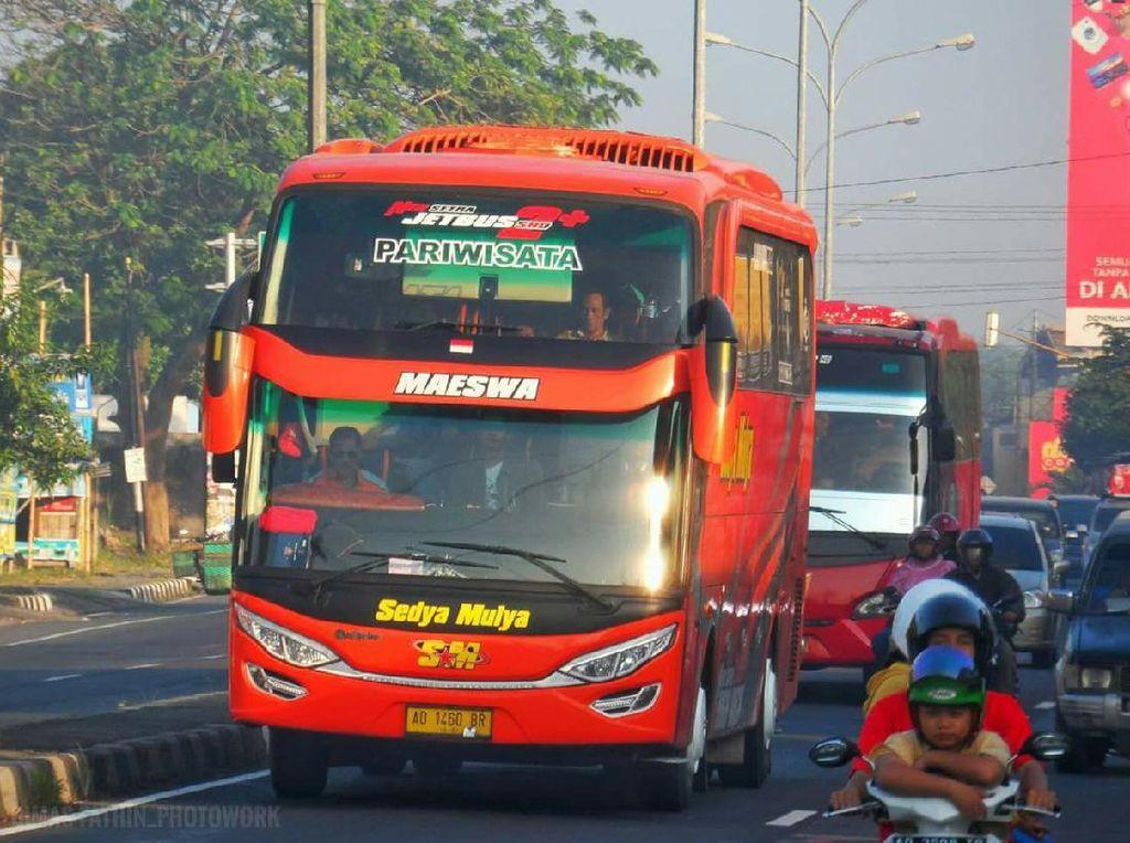 Keren! PO Bus Ini Libur Sementara Demi Cegah Corona