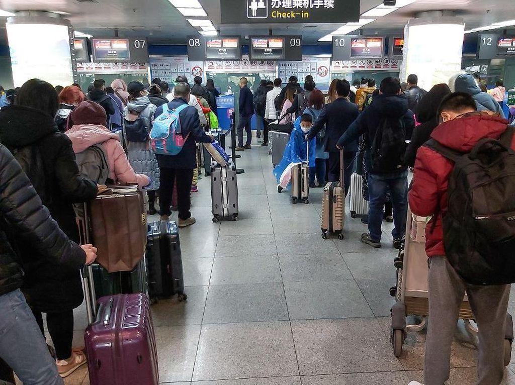 Pusat Wabah Corona di China Buka Lagi Penerbangan Domestik, Kecuali Wuhan