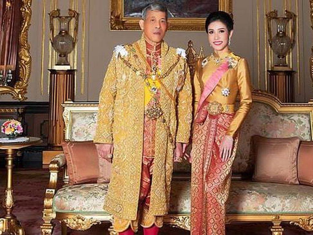Video Pengampunan Raja Thailand Untuk Eks Selir yang Ambisi Jadi Ratu