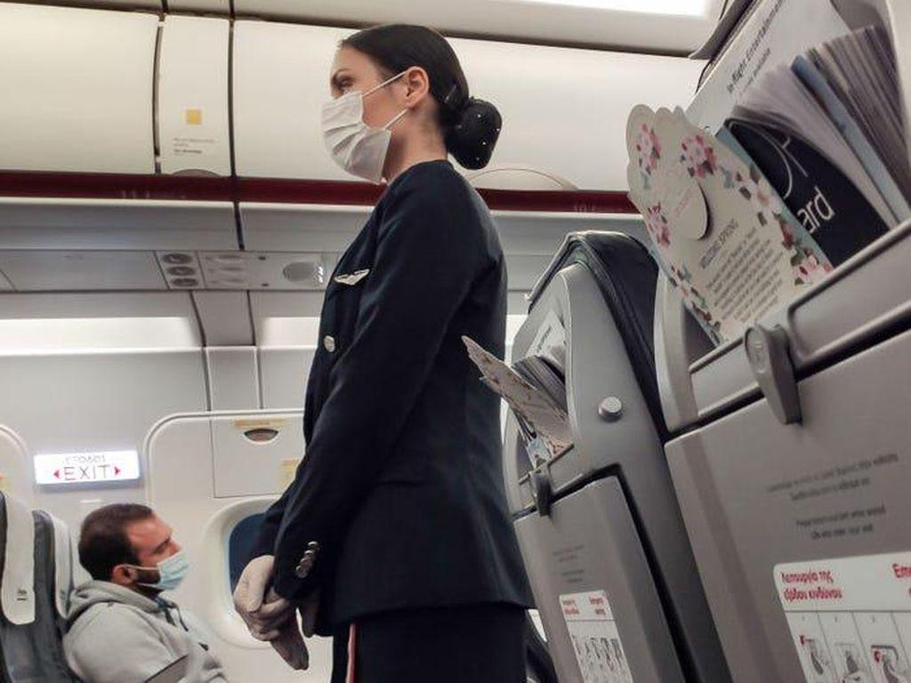 Viral! Video Tiktok Perpisahan Pramugari di Penerbangan Terakhir