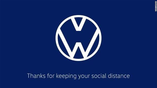 McDonald's dkk Pelintir Logo Social Distancing