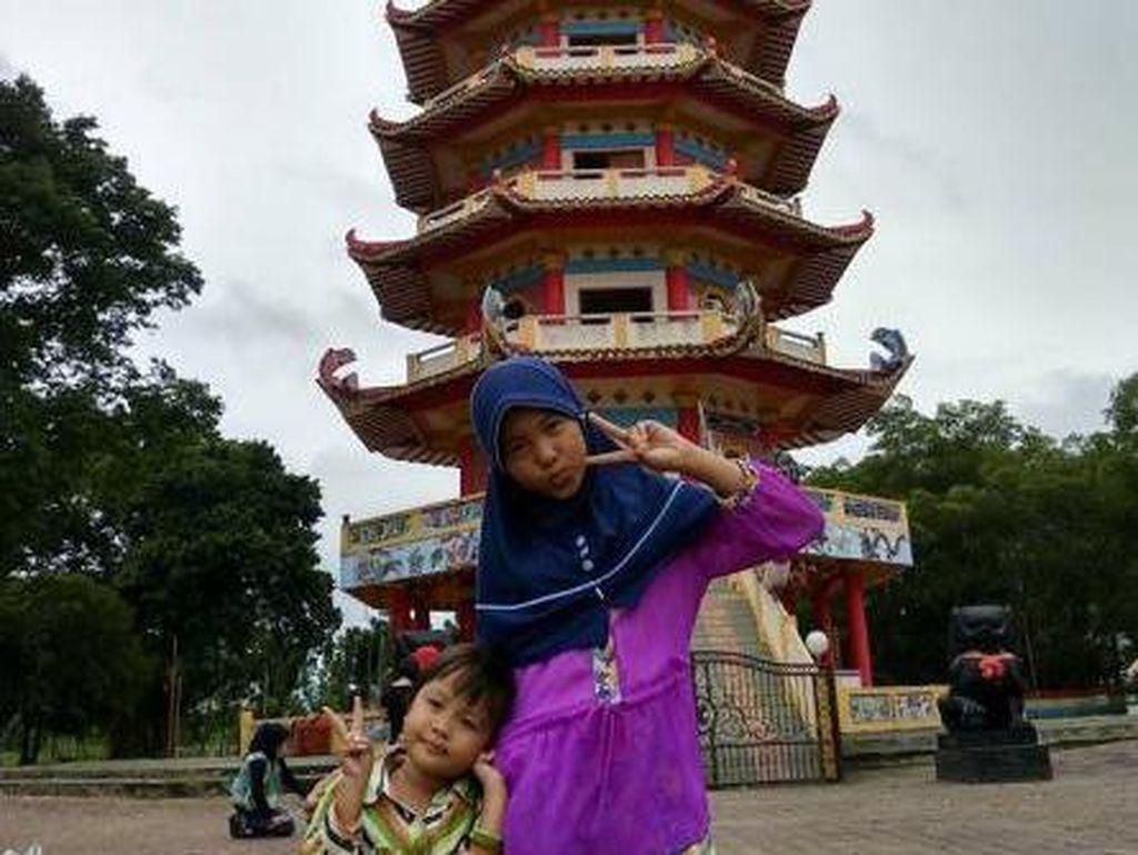Ini Pulau Kemaro, Lokasinya di Tengah Sungai Musi Palembang