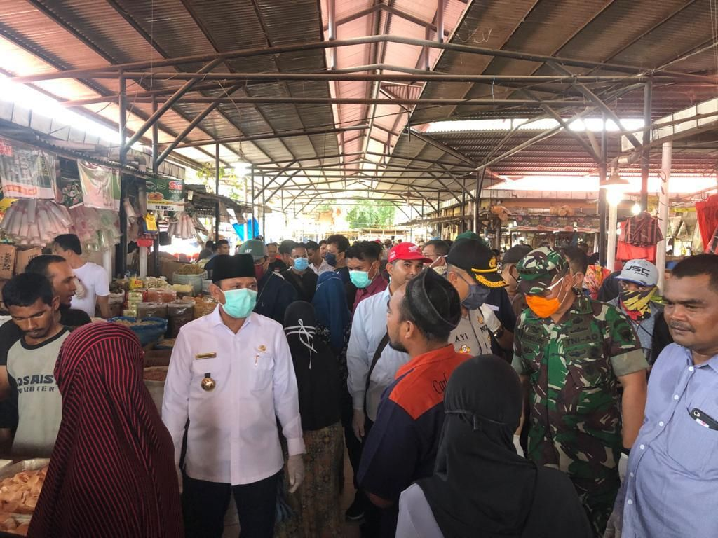 Aceh Besar Tutup Pasar Mulai 1 April demi Cegah Corona, Kecuali Pasar Induk
