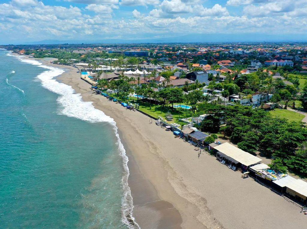 Seluruh Pantai di Kuta Bali Ditutup Sementara Mulai Hari Ini