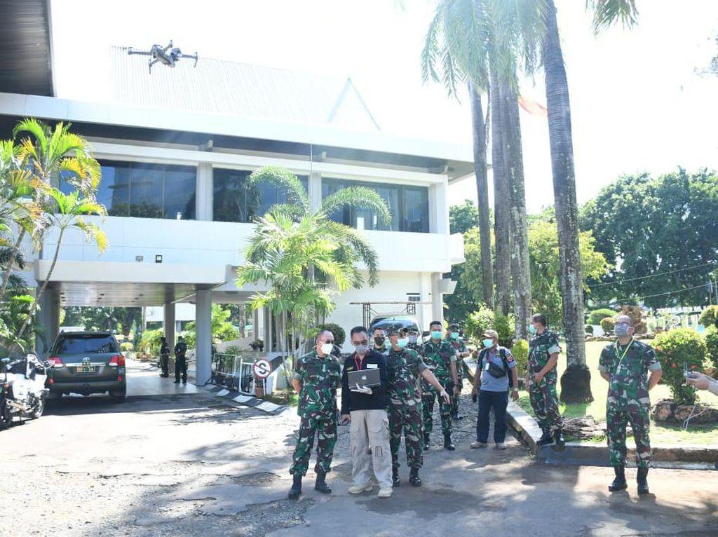 Sulsel Bakal Gunakan Drone Pemantau Suhu Tubuh Warga di Kerumunan
