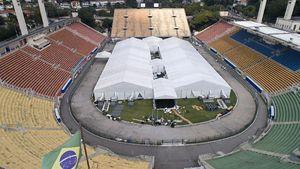 Brasil Pakai Stadion Bersejarah Jadi Rumah Sakit Corona