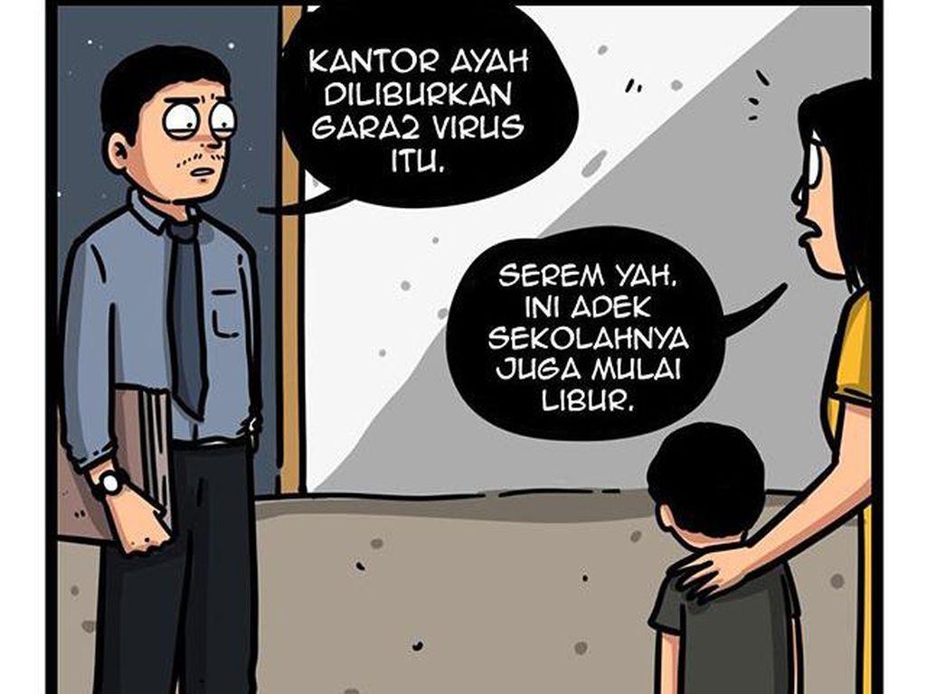 Pria Surabaya di Balik Kepopuleran Komik Kancut