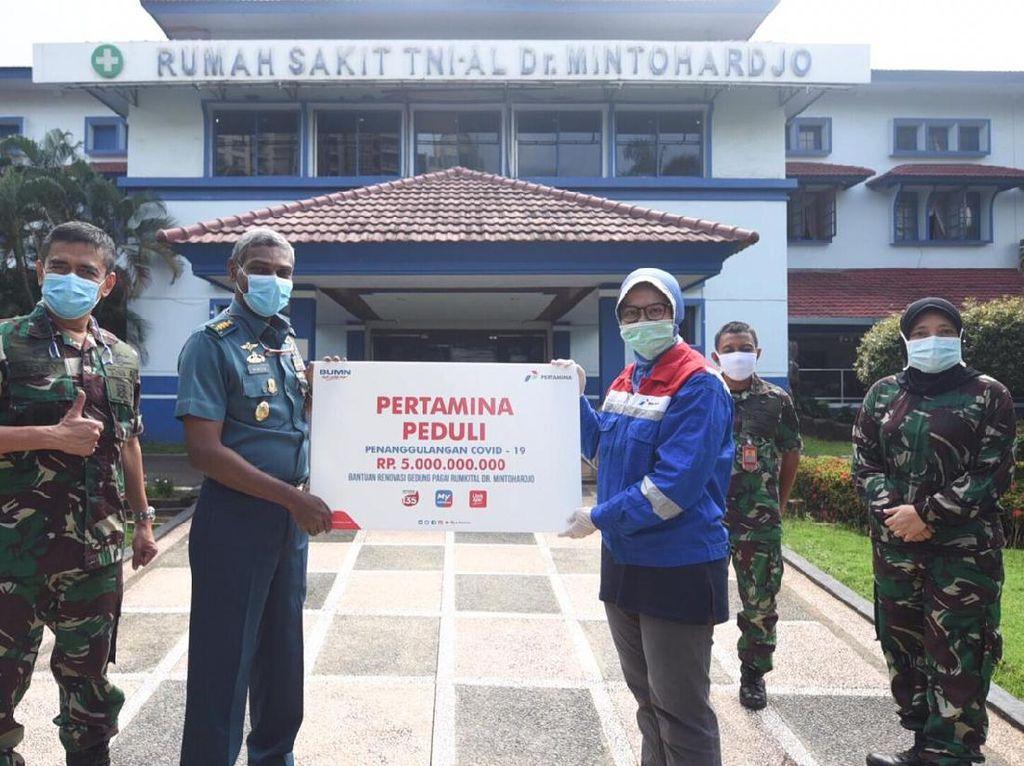Gelontorkan Rp 5 M, Pertamina Bantu Renovasi RS Rujukan Pasien Corona