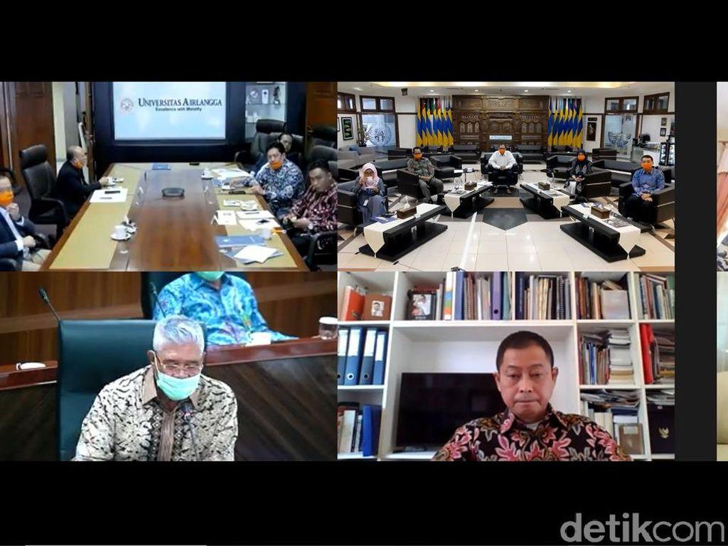 Prof Nasih Kembali Terpilih Jadi Rektor Unair Melalui Teleconference