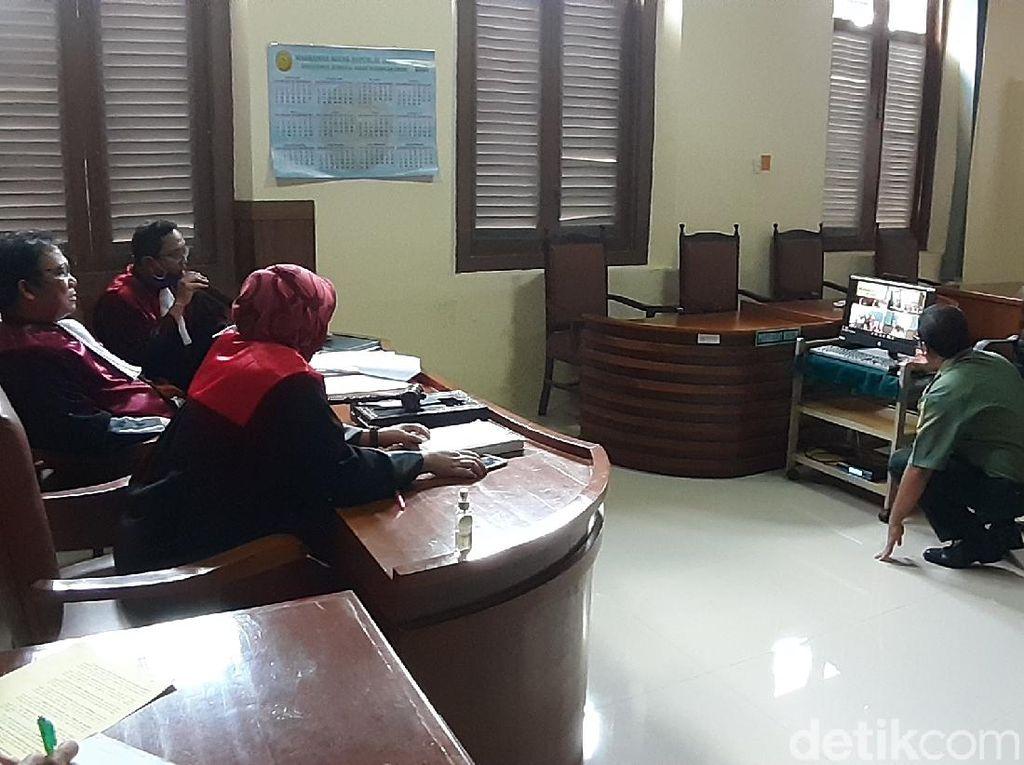 Menengok Suasana Sidang Online Perdana di Pengadilan Sragen