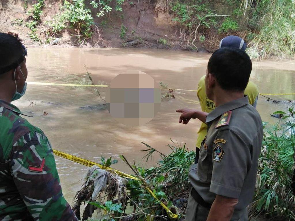 Pria Bertato Salib di Blitar Ditemukan Tewas dalam Sungai