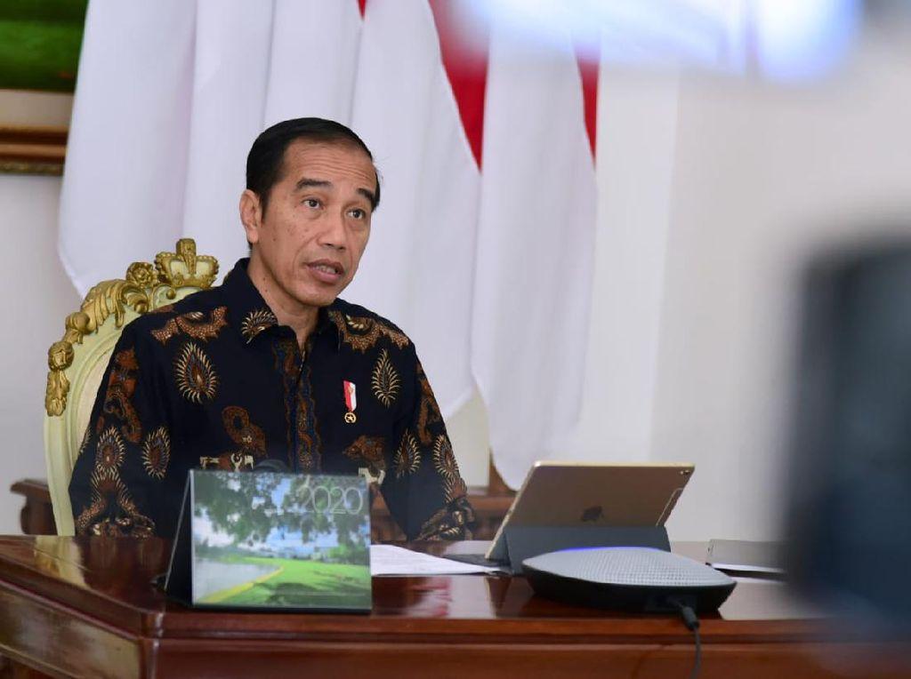 Jokowi Terbitkan PP PSBB dan Keppres Kedaruratan Kesehatan Masyarakat