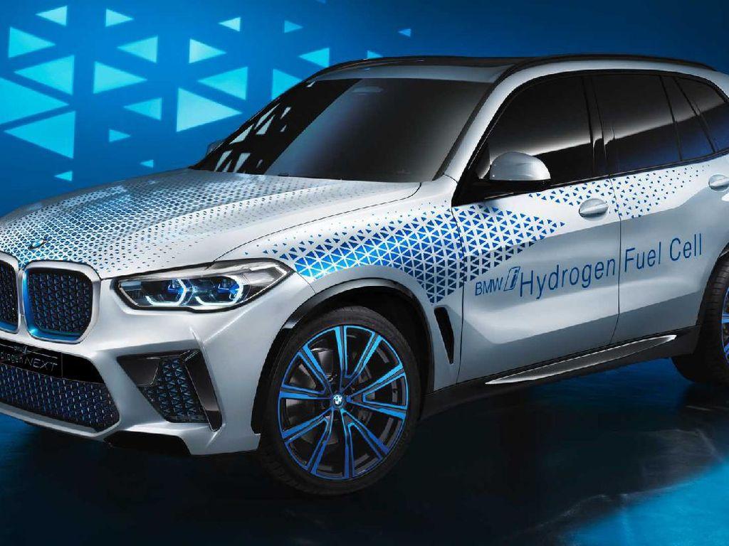 Ini Dia Mobil Berbahan Bakar Hidrogen BMW yang Siap Debut