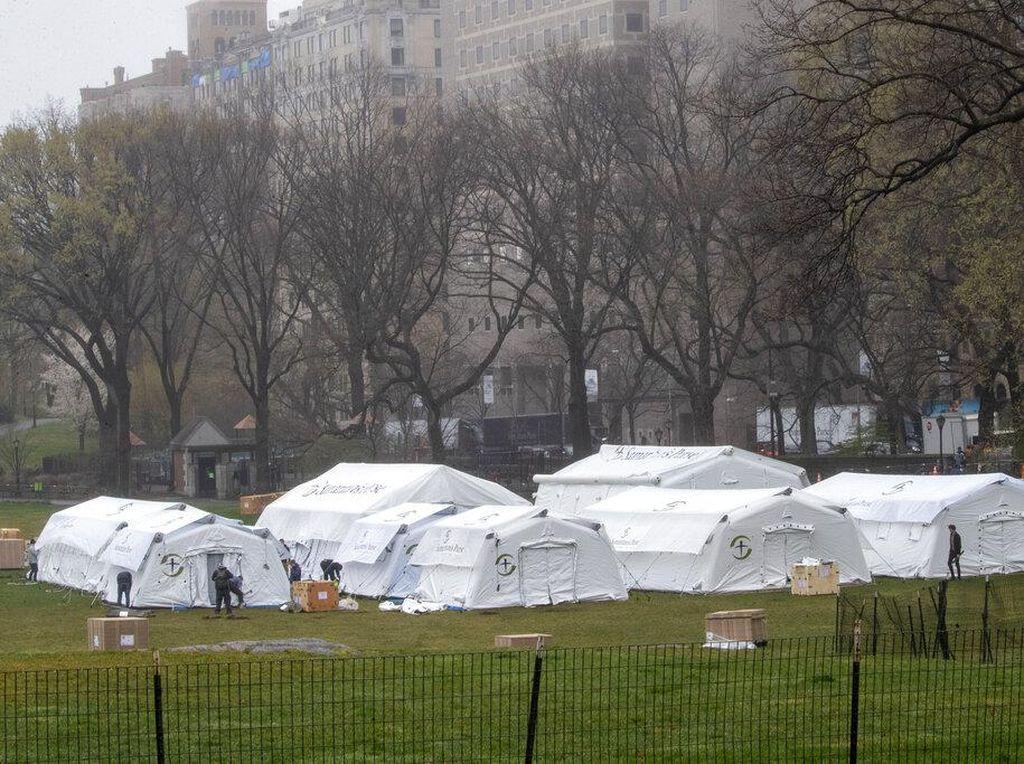 New York Buka Kembali Rumah Sakit Darurat Covid-19 di Pulau Staten