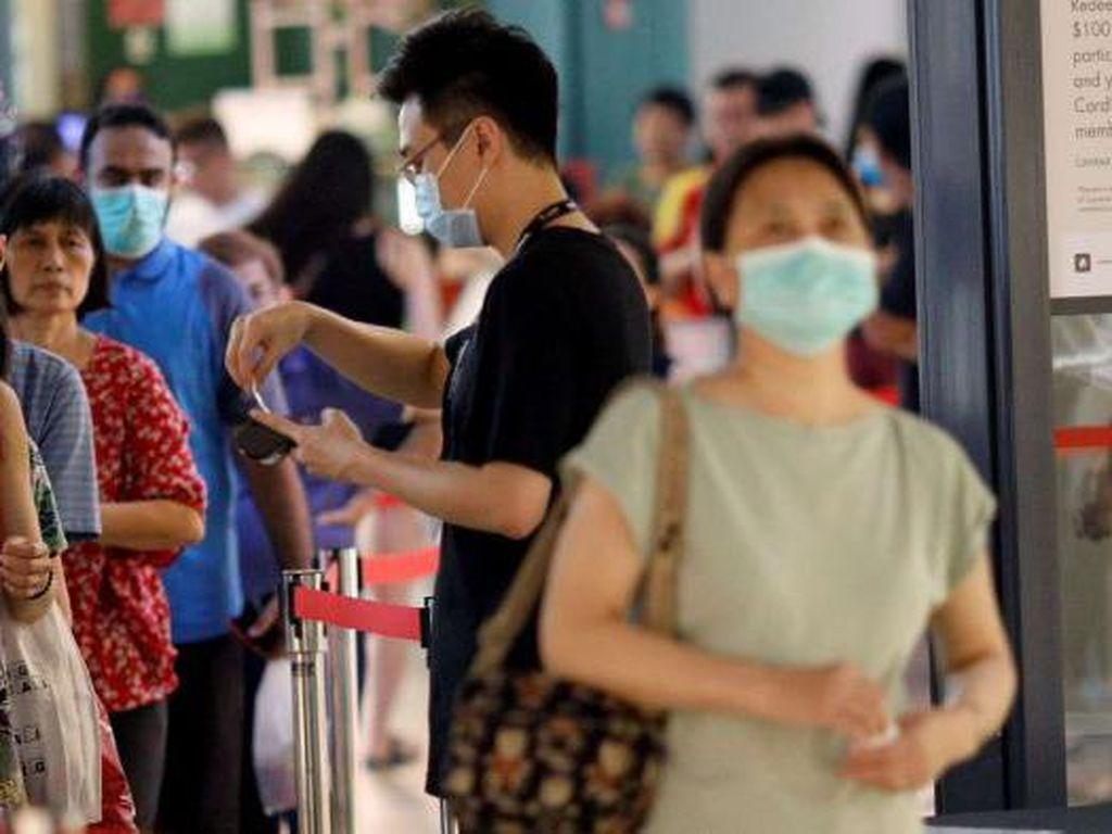 2 Kali Langgar Aturan Jaga Jarak di Singapura Akan Didenda Rp 10 Juta