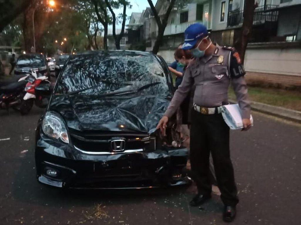 Polisi Tes Darah-Rambut Aurelia Margaretha Tersangka Kecelakan di Karawaci