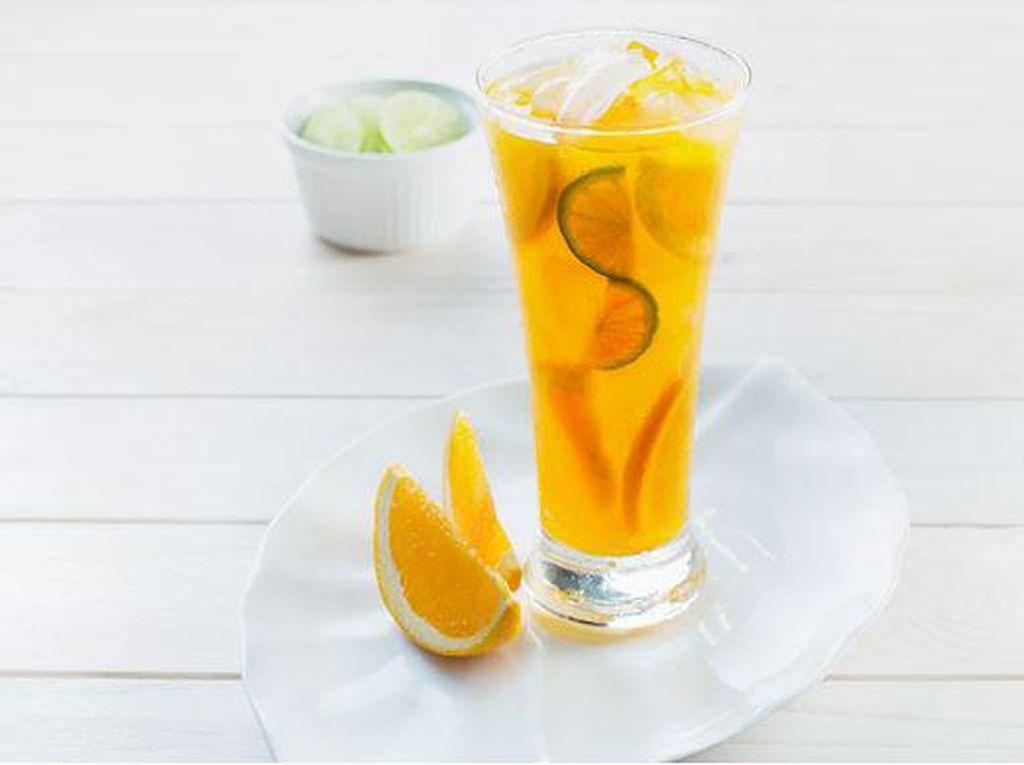 #DiRumahAja, Banyak Minum Jus Jeruk Dapat Tingkatkan Imunitas