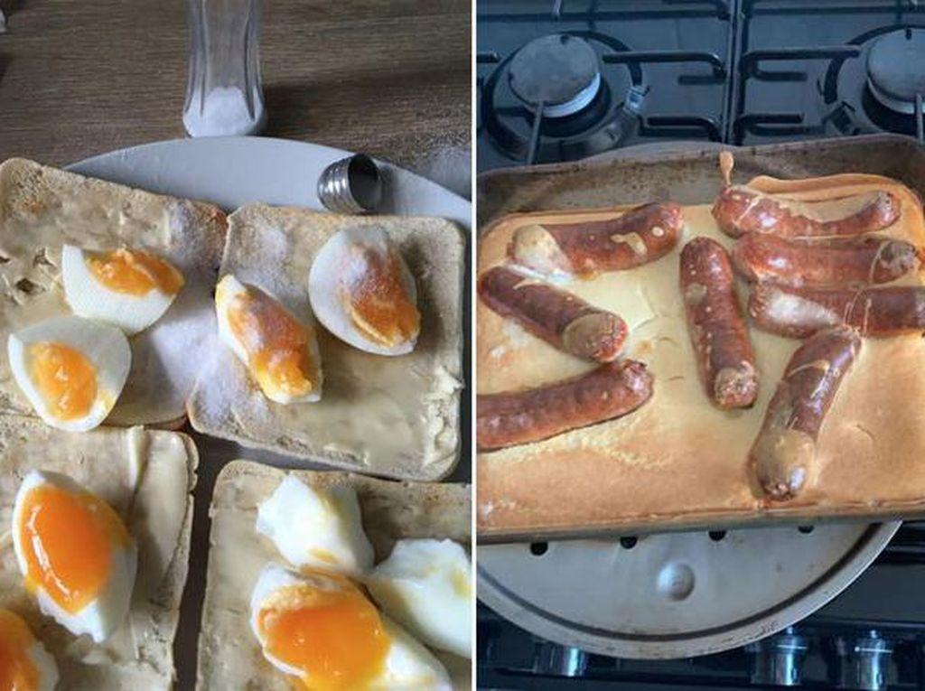 Gatot! Netizen Bagikan Masakan Rumahan Mereka yang Gagal