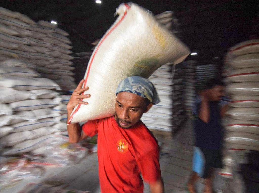 Pandemi Jangan Ganggu Pasokan Beras di Cipinang, Begini Strateginya