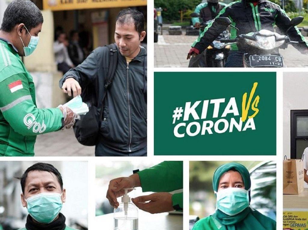 Grab Gelontorkan Rp 260 M Bantu Driver Selama Masa COVID-19