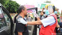 Ada Pengecekan Kesehatan Bagi Pengendara di Jalur Pantura Tuban