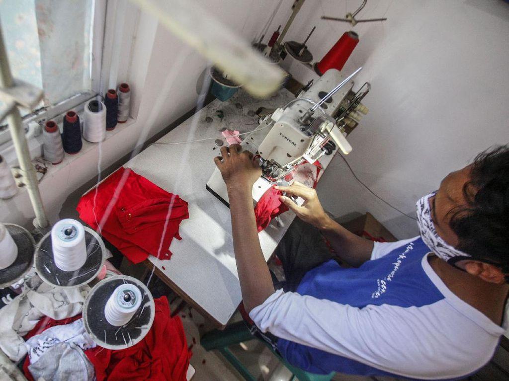 Napi di Chili Produksi Masker, Bukan Dibebaskan Terkait Corona