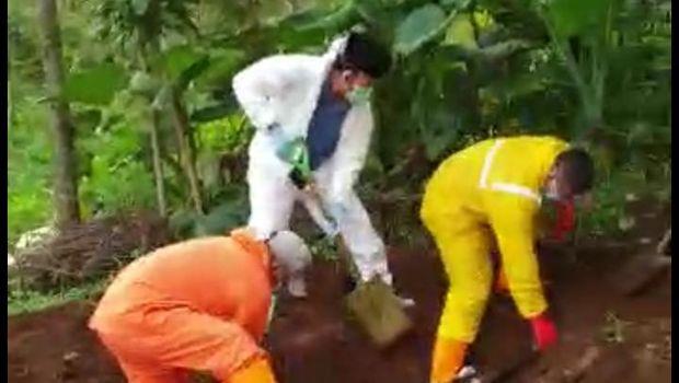 Viral Warga Tolak Jenazah Pasien Corona yang Berujung Pemindahan Makam