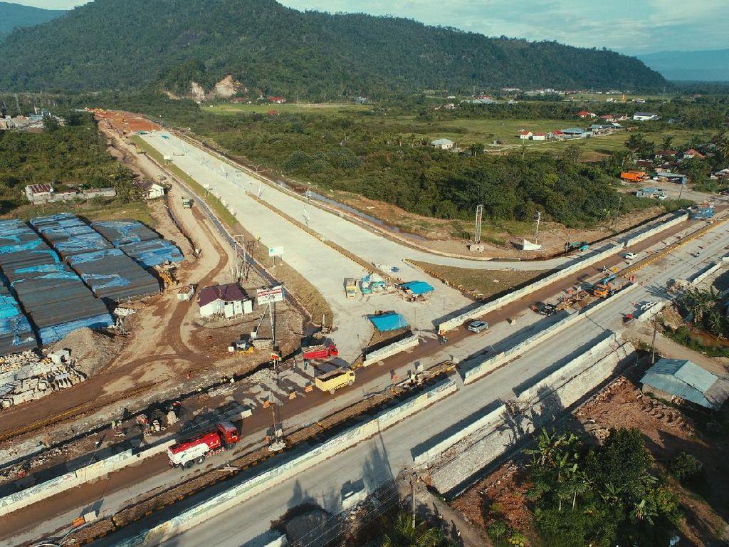 Sudah 18%, Proyek Tol Padang-Sicincin Dikebut