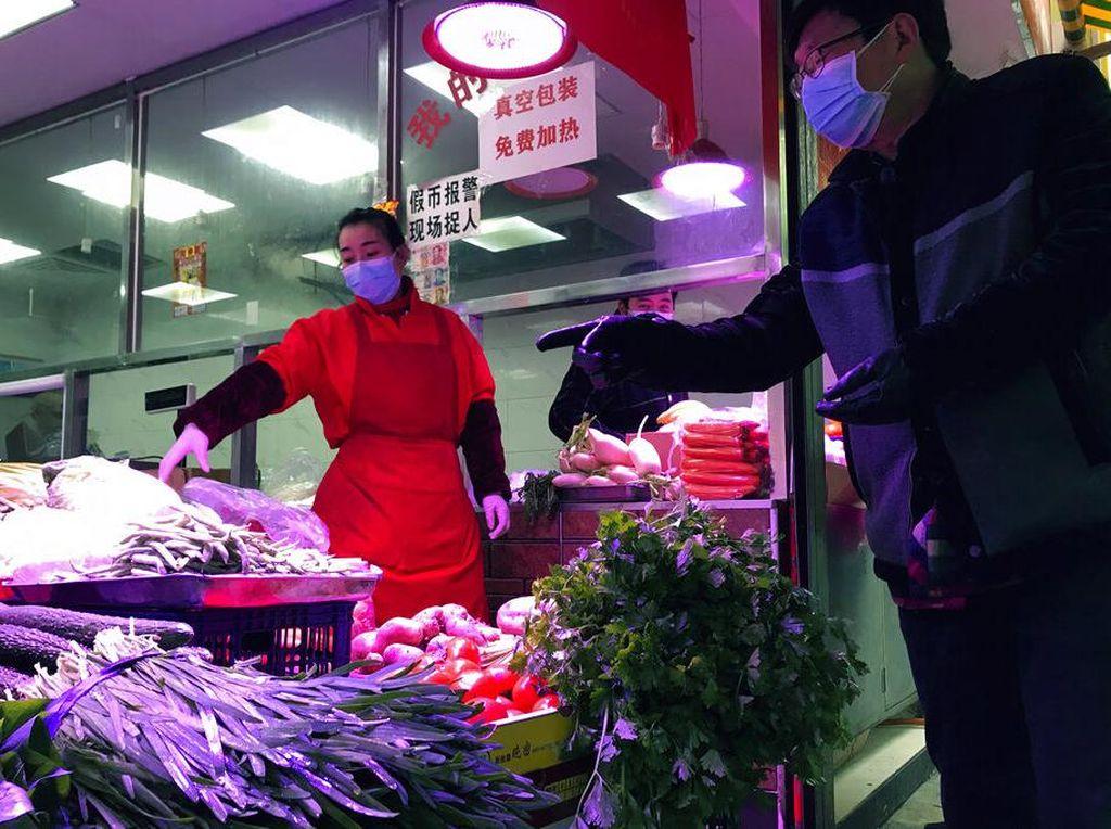 Kondisi Pasar Seafood Wuhan Pasca Dituduh Jadi Sumber Penularan Corona
