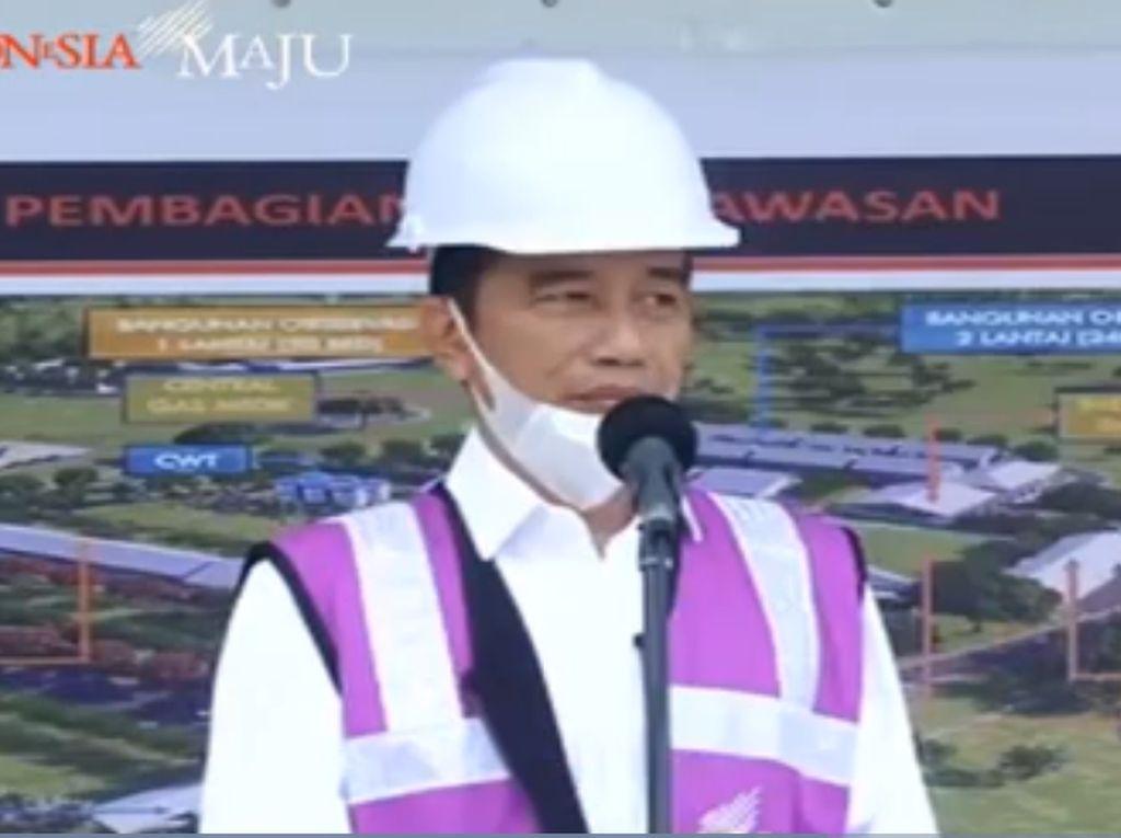 Video Jokowi Beberkan Pengertian Lockdown