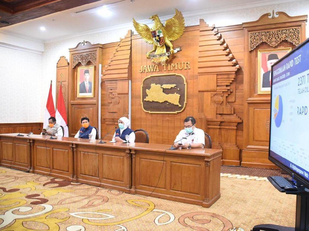Nganjuk Jadi Satu dari 20 Zona Merah di Wilayah Jawa Timur