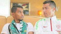 Jadi Vlogger, Martunis Banyak Diminta Kolaborasi Bareng Ronaldo