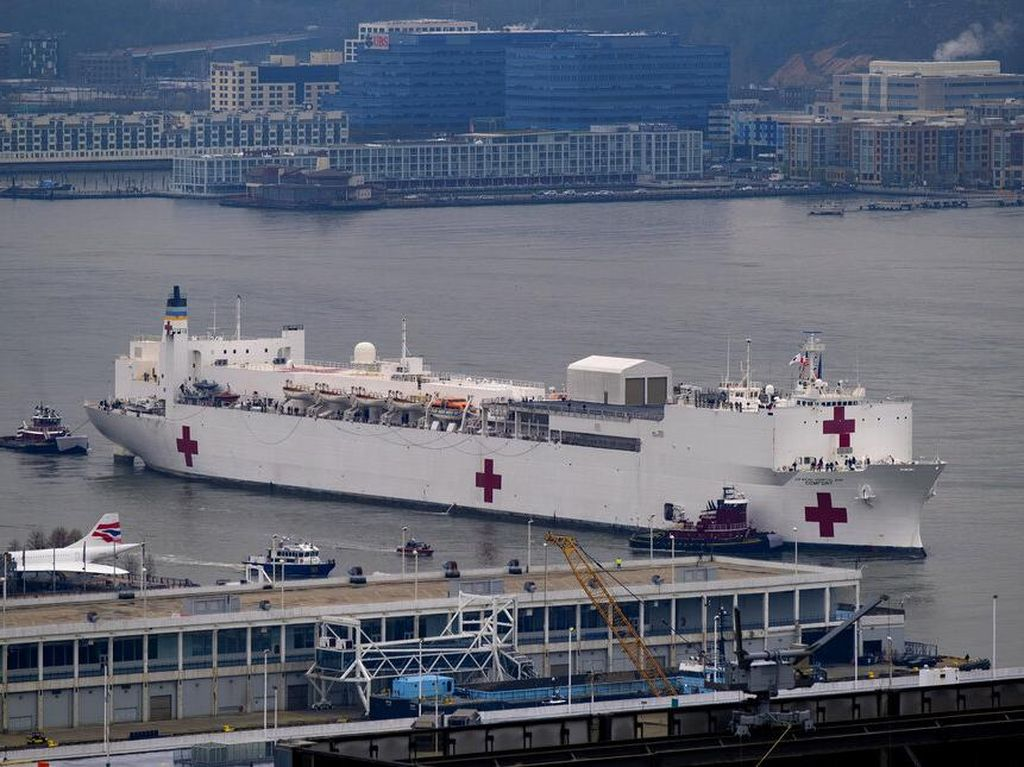 Potret Rumah Sakit Darurat Corona di Seluruh Dunia