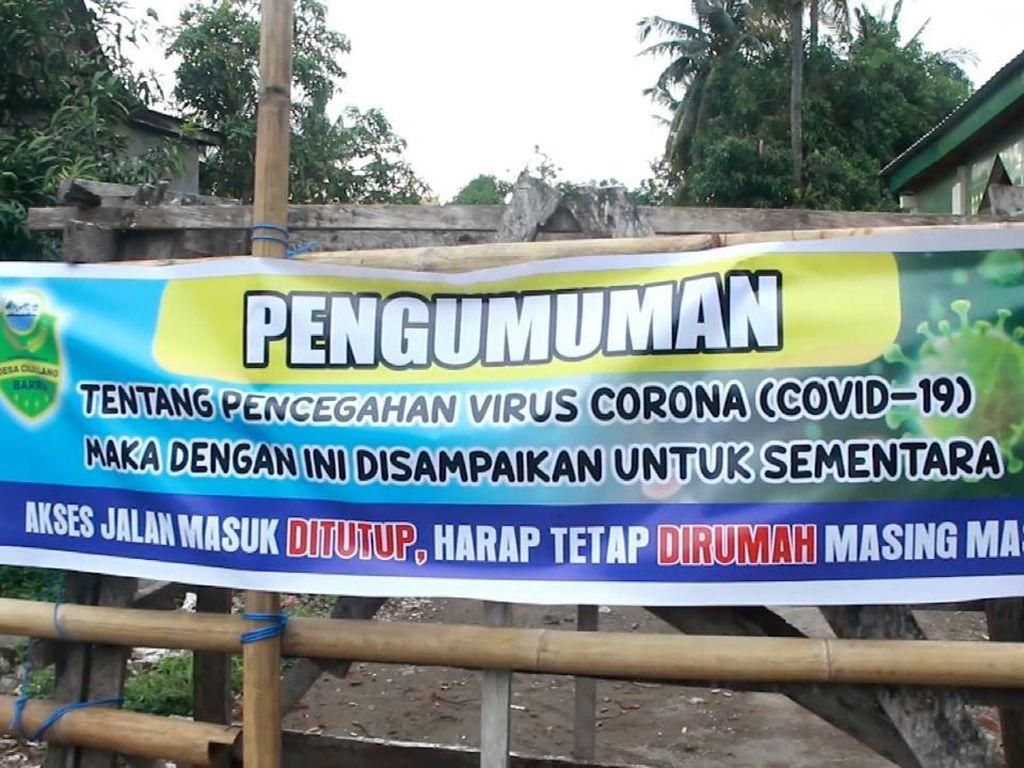 Desa di Kabupaten Barru Melakukan Karantina Lokal