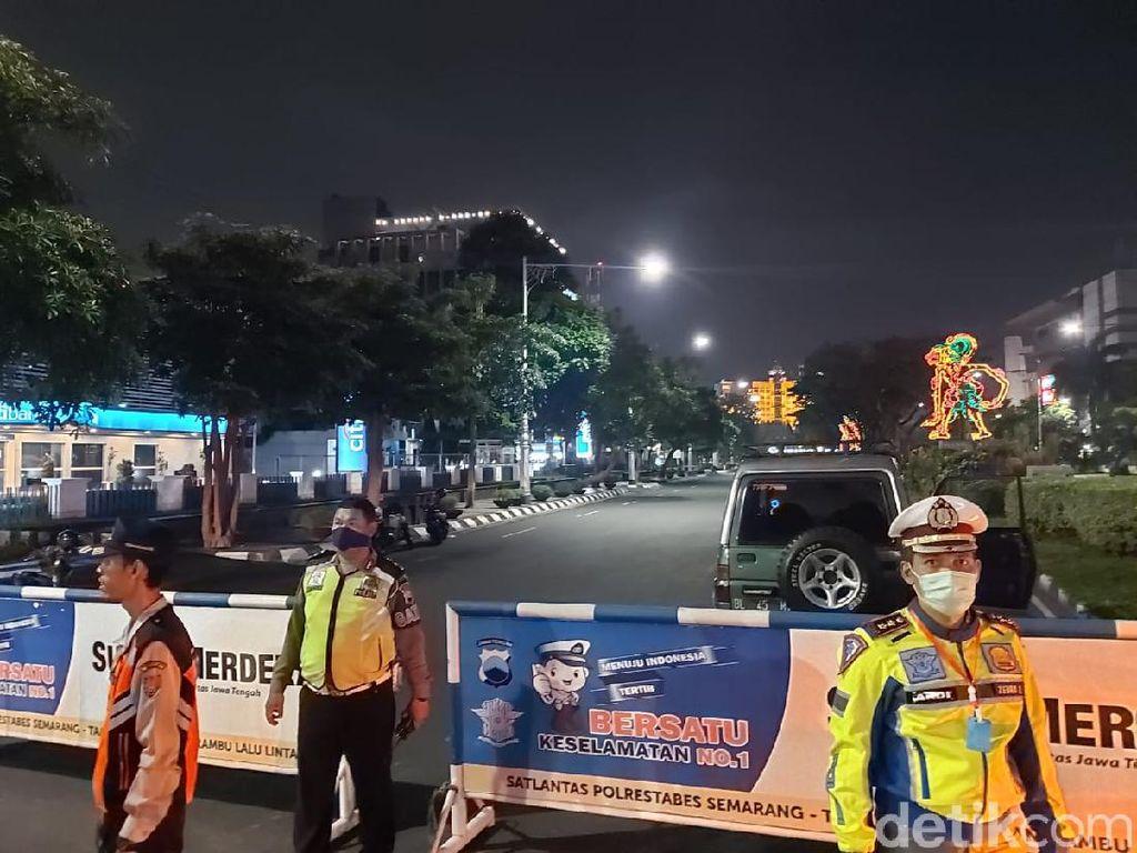5 Jalan Utama di Semarang Ditutup Tiap Malam dan 24 Jam di Akhir Pekan