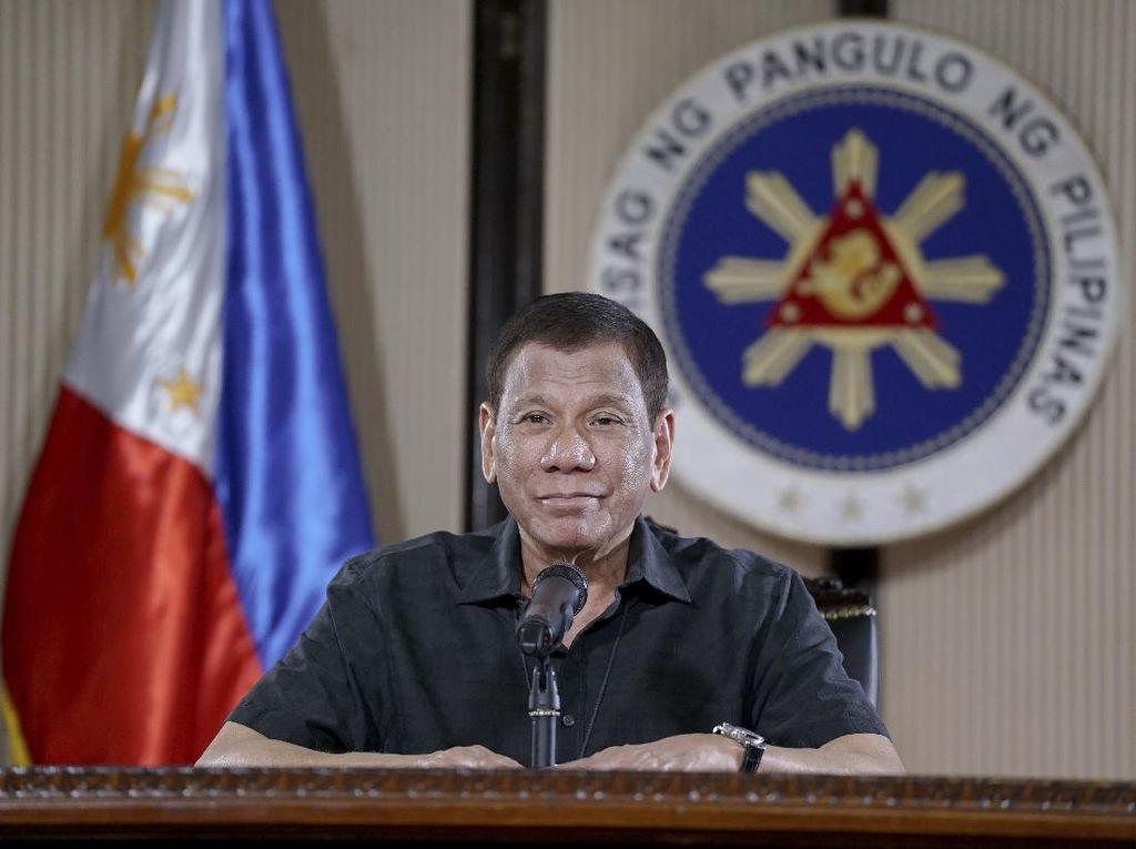 Duterte Perpanjang Lagi Lockdown Corona di Manila dan Sekitarnya