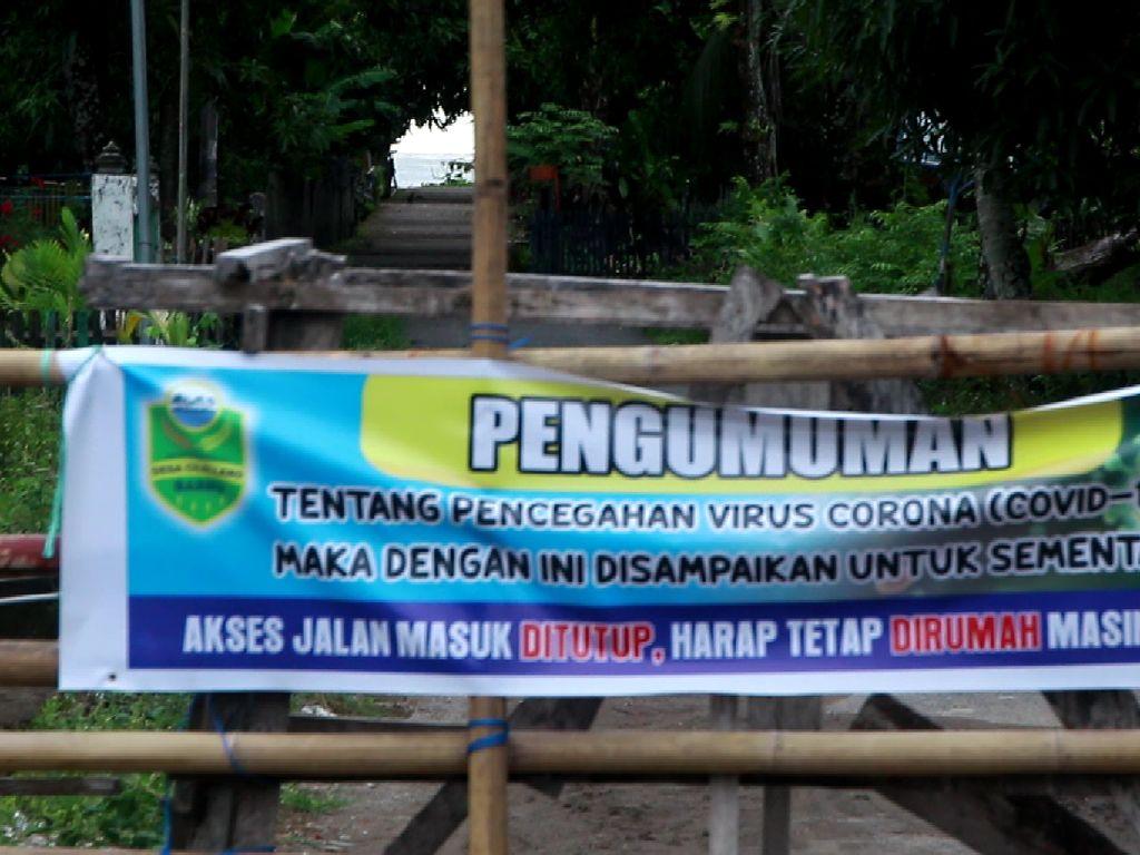 Cegah Corona, Desa Cillelang Sulsel Perketat Akses Keluar-Masuk Warganya